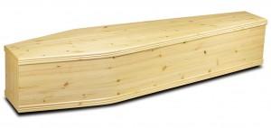 Bradnam pine coffin