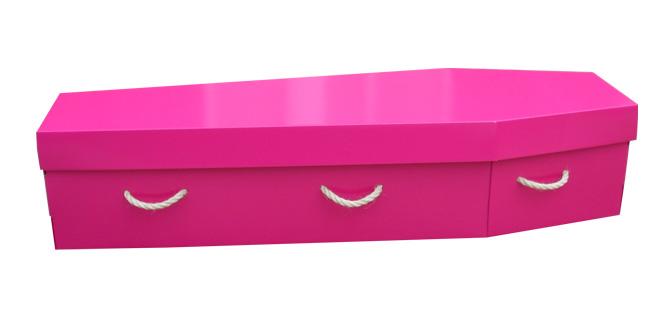 pink cardboard